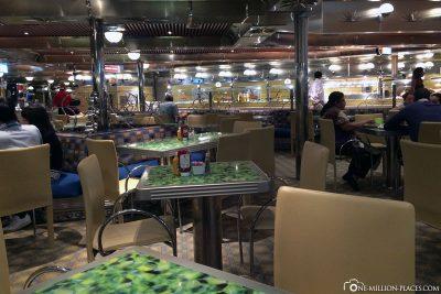 Das Buffetrestaurant