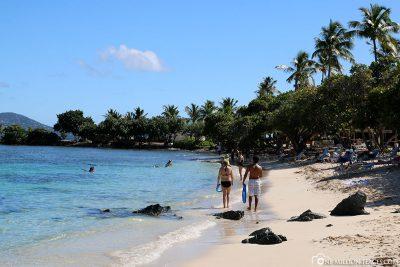 Der Strand der Magens Bay