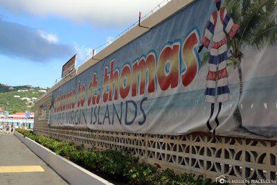 Willkommen in Saint Thomas