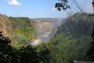 View of the Rainbow Bridge