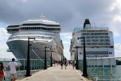 The Carnival Valor in Basseterre