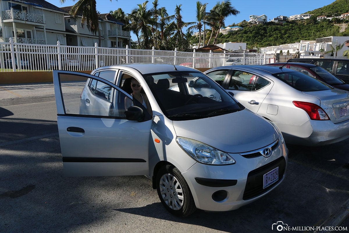 Rental Car, Sint Maarten, Island Tour, Caribbean Cruise, Travel Report