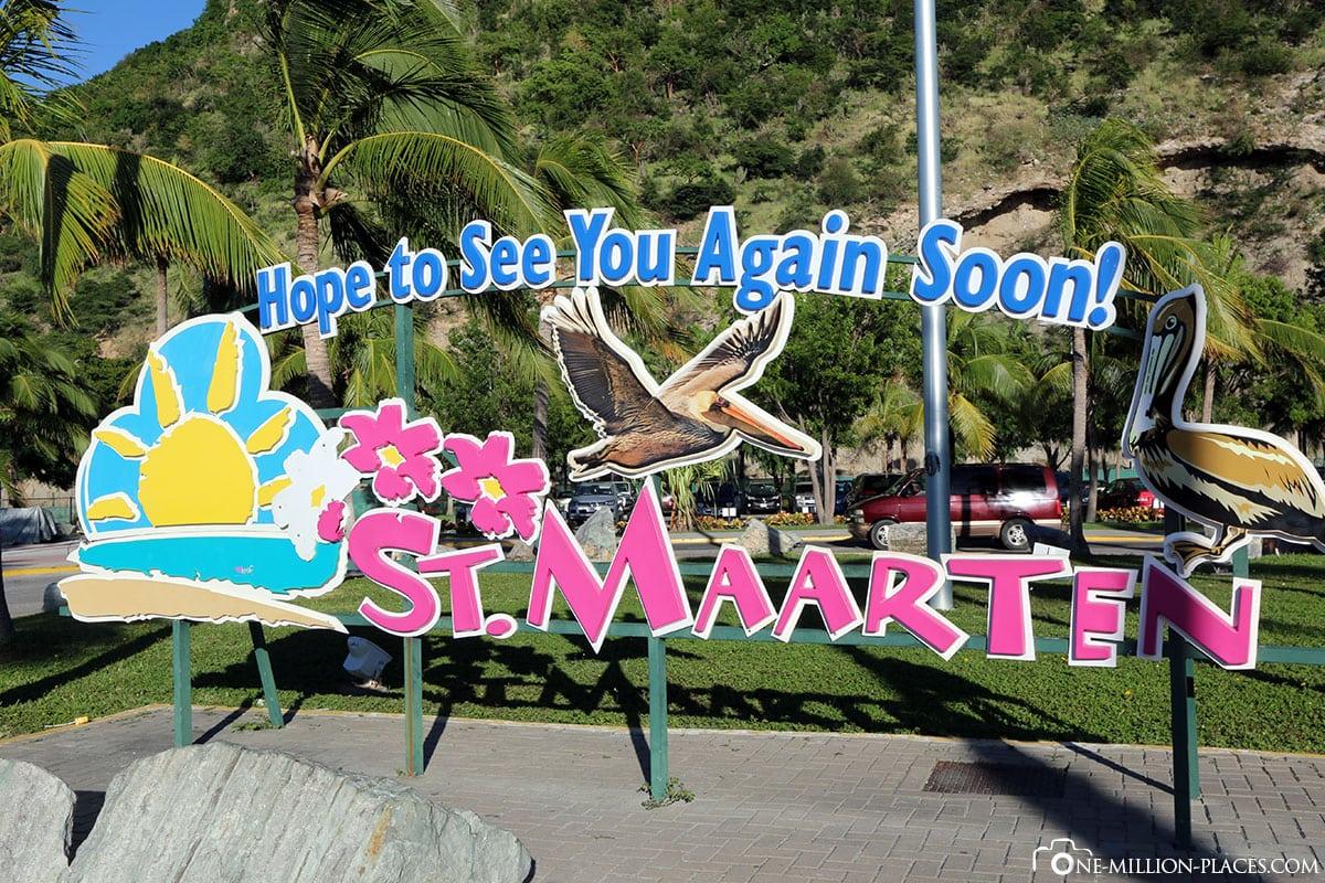 Welcome, Sint Maarten, Island Tour, Caribbean Cruise, Travel Report