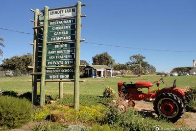Die Imhoff Farm in Kommetjie