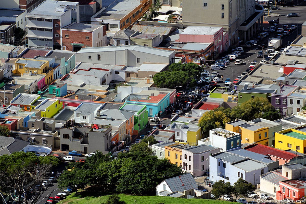 Aerial View, Bo Kaap, Colorful Houses, Cape Town, South Africa, Travelreport