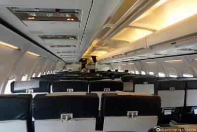 Unser Flug nach Victoria Falls