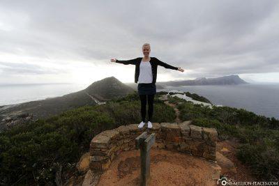 View towards cape peninsula