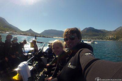 Die Bootsfahrt in der Hout Bay