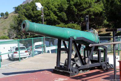 Die Noon Gun in Kapstadt