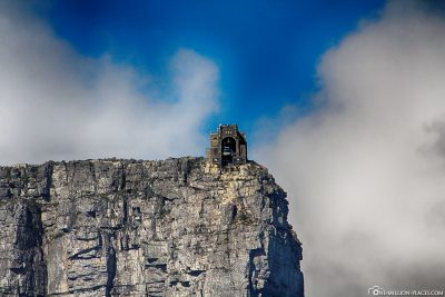 Die Bergstation der Table Mountain Aerial Cableway