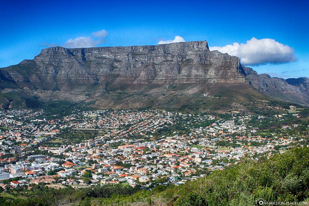 Tafelberg, Kapstadt, Südafrika, Reisebericht