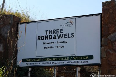 Three Rondavels in Blyde River Canyon