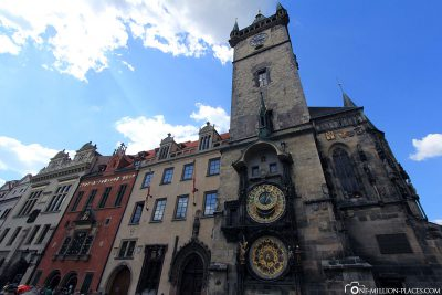 The Town Hall with the Astronomical Apostle Clock