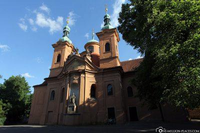 The Church of St. Laurentius on the Laurenziberg