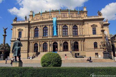 Concert and gallery building Rudolfinum