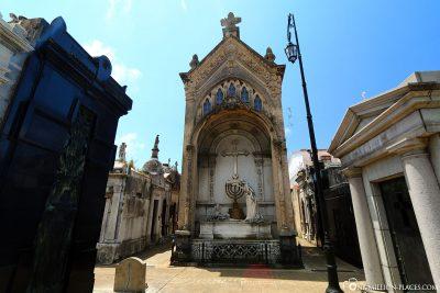 The cemetery La Recoleta
