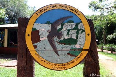 Entrance to the Iguaza National Park