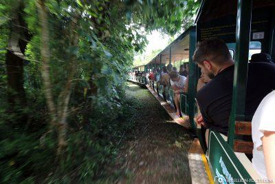 The railway to Garganta de Diabolo