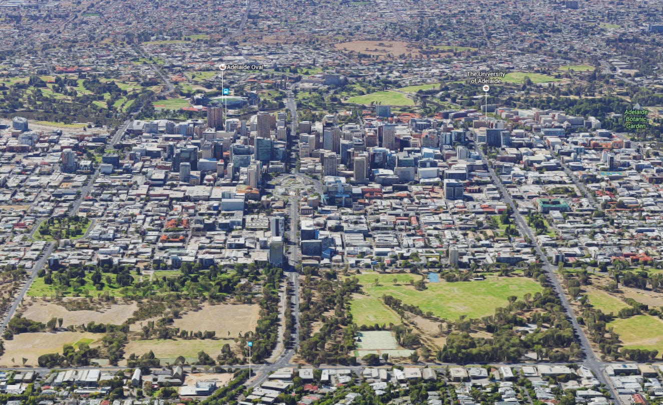 Google, Adelaide, Downtown, Attractions, State of South Australia, Australia, On Your Own, Travelreport