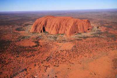 The Ayers Rock in Australia