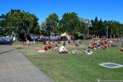 Die Esplanade von Cairns