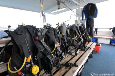 The dive ship Scubapro III