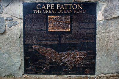 Infotafel Cape Patton