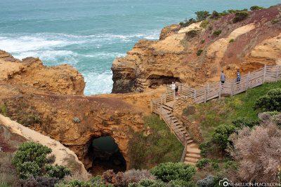 Die Wanderwege bei The Grotto
