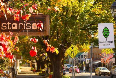 Die Stadt Hahndorf bei Adelaide