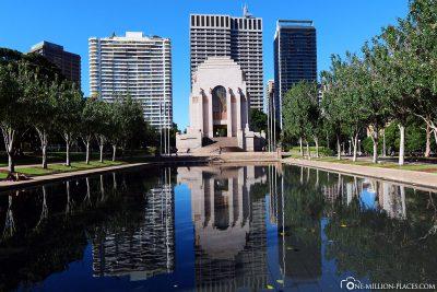 The Anzac Memorial in Hyde Park