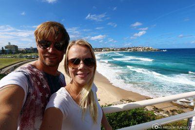 Selfie at Bondi Beach