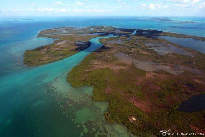 Die kleinen traumhaften Inseln