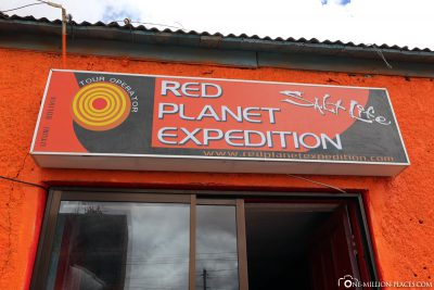 The agency Red Planet Expedition