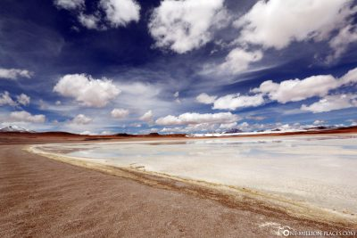 Mountain lakes in Bolivia's highlands