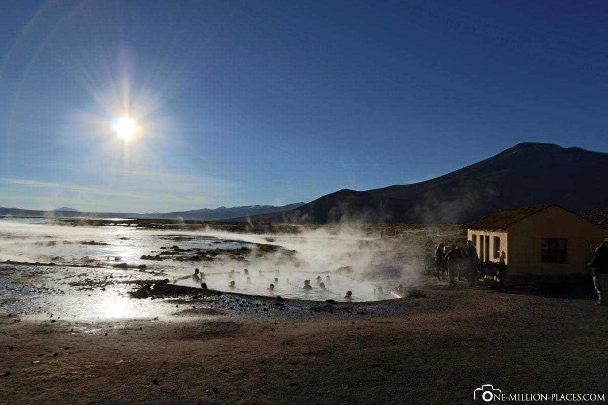 Hot Springs, Eduardo Avaroa National Park, Bolivia, South America, Tour, Travelreport