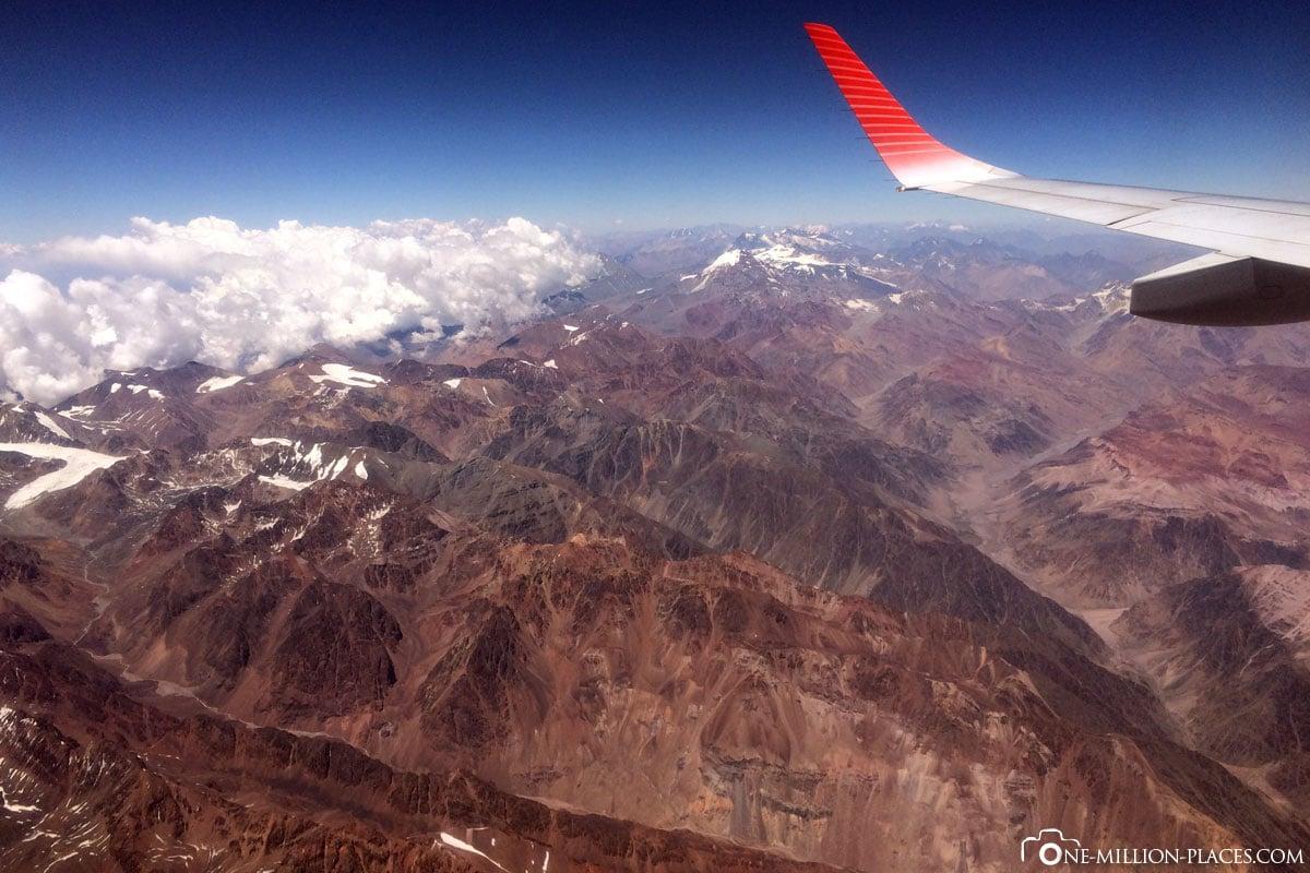 Flug, Anden, La Paz, Bolivien, Sehenswürdigkeiten, Südamerika, Auf eigene Faust, Reisebericht