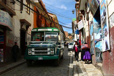 Die Altstadt von La Paz