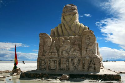 The monument to the Paris-Dakar Rally