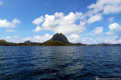 View of the main island