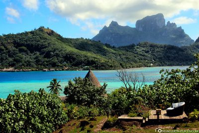 Der Blick Richtung Hauptinsel