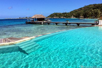 Der Pool des Sofitel Marara Beach