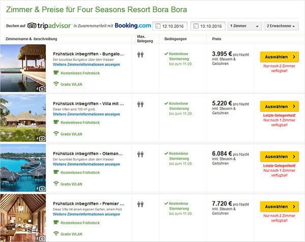 Hotel Prices, Bora-Bora, French Polynesia, South Seas, Island Paradise, On Your Own, Travel Report