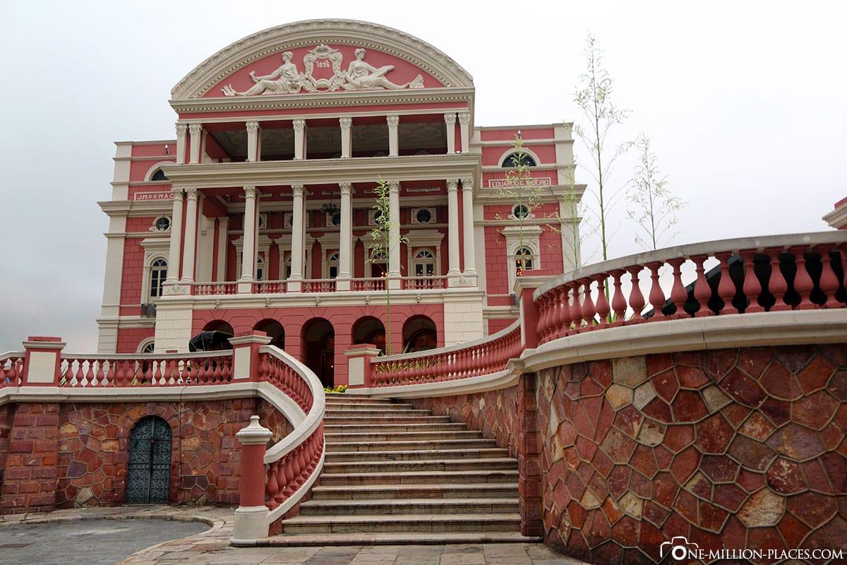 Opera House, Manaus, Amazon, Brazil, South America, Travelreport