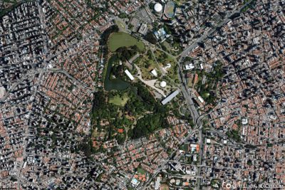 Map of Parque do Ibirapuera