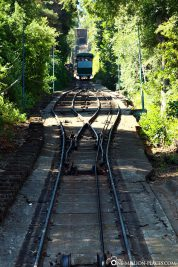 The funicular of Cerro San Cristobal