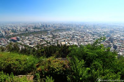 View from Cerro San Cristobal