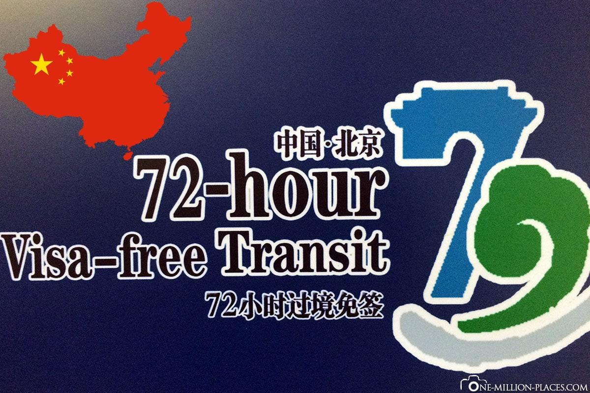 China, 72 Stunden Visum, Reisebericht, Peking, Erfahrungen, Voraussetzungen