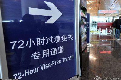 Der Weg zum Visa-Free Transitschalter