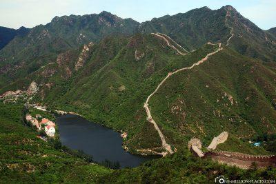 Der Blick über die Landschaft