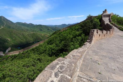 Die Chinesische Mauer bei Huanghuacheng